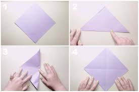 traditional origami lily flower