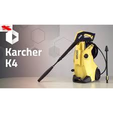 Máy xịt rửa xe áp lực cao Karcher K4 Full Control EU - Hàng của ITALY