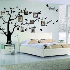 Extra Large 180 250 Brown Black Photo Frame Tree Wall Sticker Home Decorations Family Wall Decals Adesivo De Parede Decor Mural Decoration Murale Family Wall Decaltree Wall Sticker Aliexpress