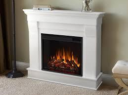 cau white electric fireplace
