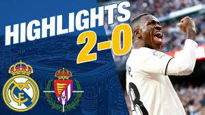 REAL MADRID 2-0 VALLADOLID | ALL GOALS & HIGHLIGHTS