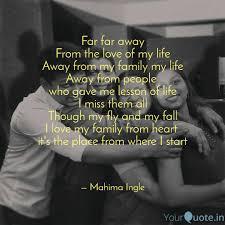 far far away from the lov quotes writings by mahima ingle