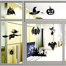 3d Halloween Wall Sticker Pvc Witch Wizard Bat Vinyl Window Decal Door Home Decor Diy Good Quality Name Wall Decals Name Wall Stickers From Suyu25224 2 91 Dhgate Com