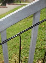 Puppy Panels For Iron Or Aluminum Fence 6 Ft Or 8 Ft Wide 18 Inches Fence Supply Online
