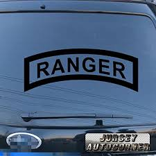 3s Motorline Ranger Airborne Us Army Decal Sticker Car Vinyl Pick Size Color Die Cut No Background Black 12 30 5cm On Galleon Philippines