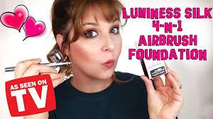 luminess silk 4 n 1 airbrush foundation