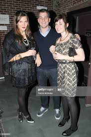 Adele Carr, Max Abbott and Jackie Battel attend APRIVATECLUB.COM... News  Photo - Getty Images
