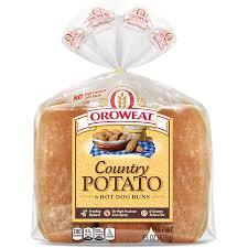 oroweat premium breads potato rolls