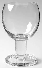 viva clear wine glass by crate barrel