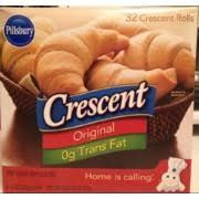 pillsbury crescent rolls calories