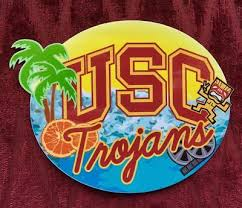 Usc Trojans Best In Southern California Vinyl Decal Sticker Go Trojans Ebay