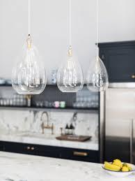 wellington clear glass pendant light in