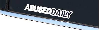 2 X Small Hoonigan Novelty Vinyl Car Back Window Bumper Sticker Decal Drift Archives Midweek Com