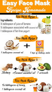 simple easy face mask recipe homemade