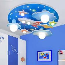 Led Modern Children S Ceiling Lamp Remote Cartoon Kids Bedroom Lighting Light 743579850880 Ebay