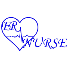 Er Nurse Heart Decal Southern Caliber Decals