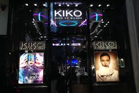kiko milano opens on regent street