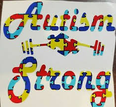 Autism Strong Puzzle Awareness Vinyl Decal Car Truck Cooler Cup Window Yeti Ebay