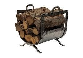 vintage fireplace wood holder home