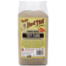 whole grain teff flour 24 oz pkg