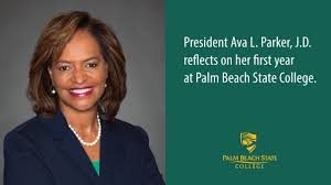 PBSC President Ava L. Parker, J.D. reflects on her first year. - YouTube