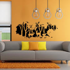58cmx126cm Forest Fawn Deer Wall Sticker Wall Decal Home Room Wall Art Decor Gift Sale Banggood Com