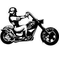 Sticker Harley Davidson Moto Helmet Sticker