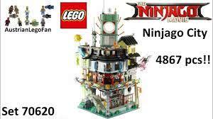 Lego Ninjago Movie 70620 Ninjago City - Lego Speed Build Review - YouTube