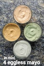 eggless mayonnaise recipe 4 flavours