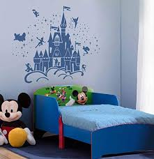 Amazon Com Best Design Amazing Decals Disney Castle Characters Wall Sticker Art Decal Sticker Made In Usa Home Kitchen
