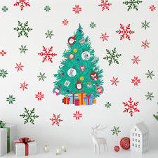 The Holiday Aisle Christmas Tree Friends Wall Decal Wayfair
