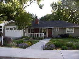 ranch style homes exterior paint