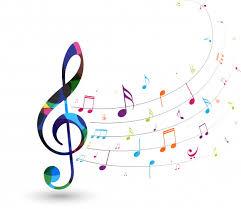 Notes De Musique Colorées | Vecteur Premium