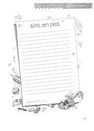 Vll Sinterklaas Kopieerblad 10 Met Afbeeldingen Sinterklaas