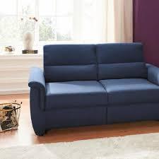 2 3 sitzer sofas in blau