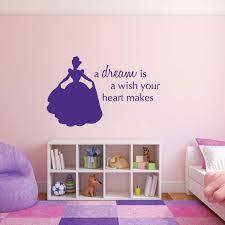 Cinderella Disney Princess Silhouette Girls Room Vinyl Decor Wall Decal Customvinyldecor Com