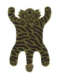 Ferm Living Kids Safari Tufted Rug Tiger Atelje Nord