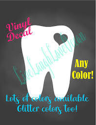 Molar Decal White Tooth Decal Dentist Dental Assistant Dental Hygienist Rdh Dental Decal Molar With Heart Too Dental Assistant Vinyl Decals Vinyl Signs