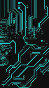 circuit board digital wallpaper