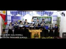 Sing To Me Of Heaven | CIABC Choir - YouTube