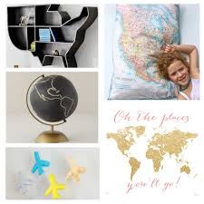 Travel Inspired Decor For Nurseries And Kids Rooms Globetrotting Mommy