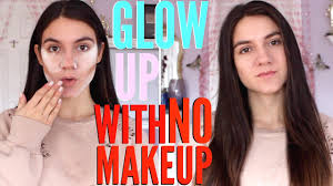 beauty hacks to glow up with no makeup