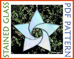easy stained glass star pattern 5