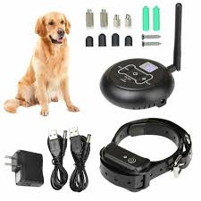 Wireless Electric Dog Fence Waterproof Containment System Shock Collar For 1 Dog Shopee Philippines