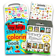 coloring book set for toddlers baby