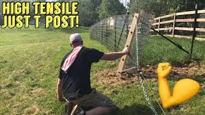 Strong Fence No Digging Dogs Goats Pigs Whatever Youtube