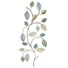 leaf branch metal wall decor hobby