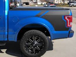 Product Ford F150 Bed Side Vinyl Graphic Decals Stickers Fits Models 2015 2018