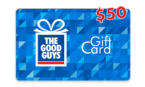 gift cards the good guys