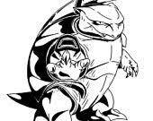 Items Op Etsy Die Op Pokemon Geinspireerd Mega Blastoise